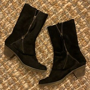 Matisse Suede Leather Booties